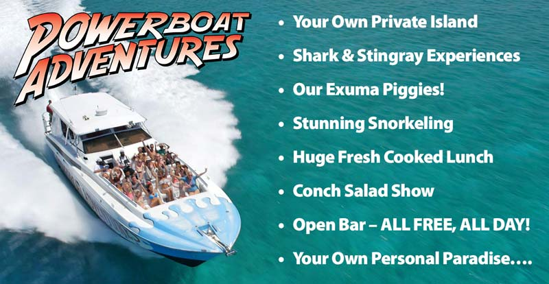 The Ultimate Exuma Boat Excursion - Take a ride on the wild side!