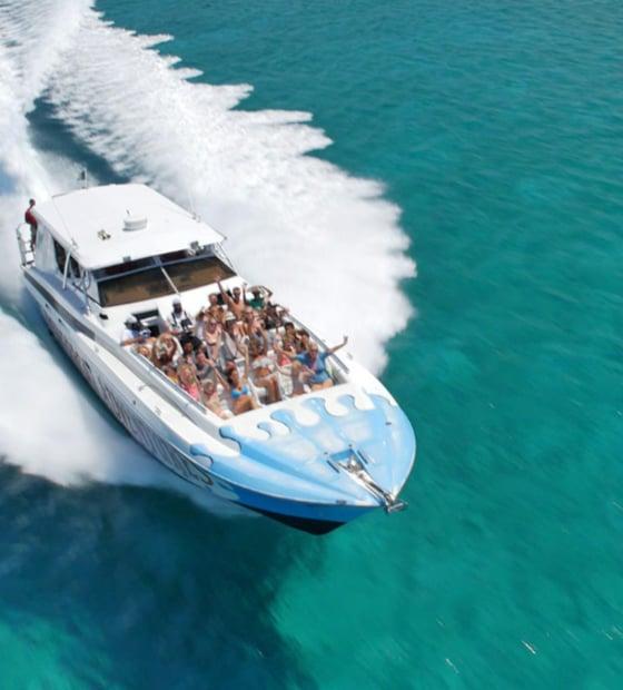Powerboat Adventures - Bahamas Swimming Pigs Tour Trip Excursion
